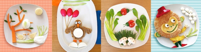 Images courtesy and copyright of Parents Magazine and Hilit Shefer http://www.parents.com/recipes/nutrition/feed-their-imagination